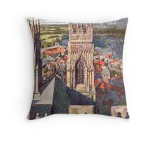 York from the Minster Throw Pillow