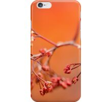 Red Maple Leaves iPhone Case/Skin