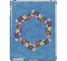 Sock Monkey Water Ballet iPad Case/Skin
