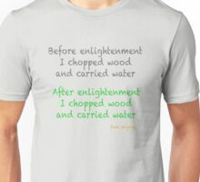 Before and After Unisex T-Shirt