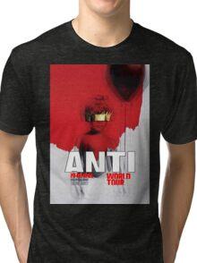 Rihanna Travis Scott Anti World Tour 2016 AM3 Tri-blend T-Shirt
