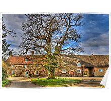 The Oak Tree at Hethe Poster