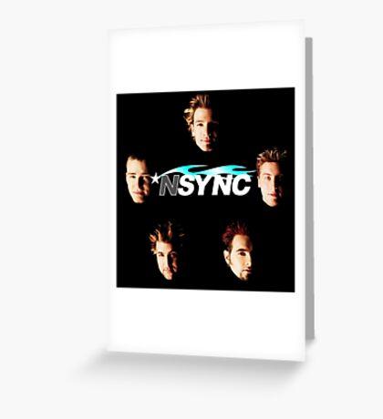 *NSYNC Greeting Card