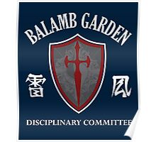 The Disciplinary Committee Poster