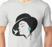 Girl Portrait - 3 Unisex T-Shirt