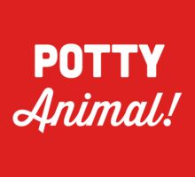 Potty Animal One Piece - Long Sleeve