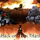 Attack on Teen TitanFall by cornnyman