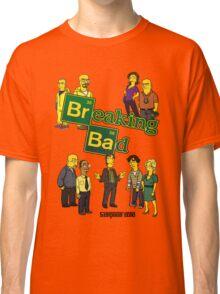 Simspon'ized Breaking Bad Classic T-Shirt