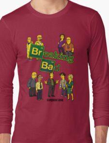 Simspon'ized Breaking Bad Long Sleeve T-Shirt