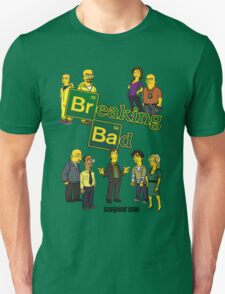 Simspon'ized Breaking Bad T-Shirt