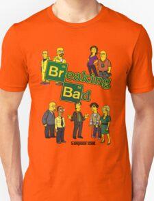 Simspon'ized Breaking Bad T-Shirt