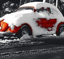 Snowy Brighton by timkouroff