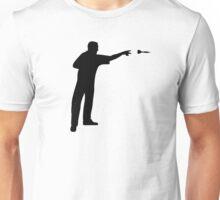 Darts player Unisex T-Shirt