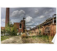 Textile Mill, abandoned Poster