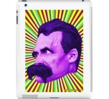 Nietzsche Burst 5 - by Rev. Shakes iPad Case/Skin