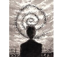 Carcosa's Spiral Photographic Print