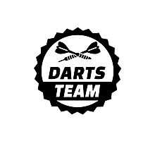 Darts team Photographic Print