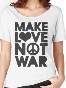 Make Love Women's Relaxed Fit T-Shirt