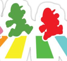 Rainbow Road Sticker