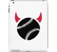 Baseball devil iPad Case/Skin