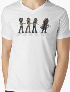 Abbey Dead Mens V-Neck T-Shirt