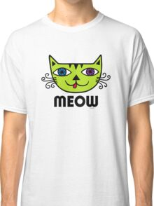 Meow Cat multi Classic T-Shirt