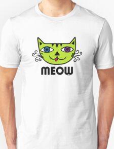 Meow Cat multi T-Shirt