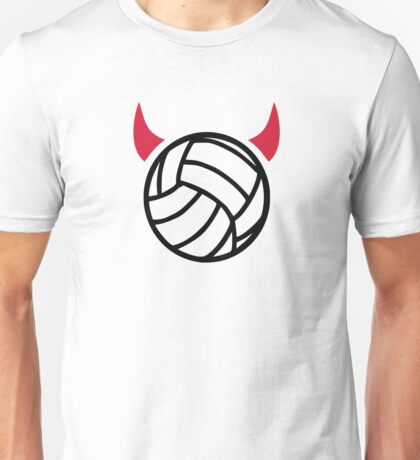 Volleyball devil Unisex T-Shirt