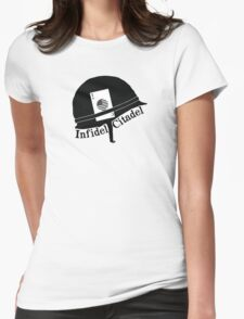 Infidel Citadel Brand Womens Fitted T-Shirt