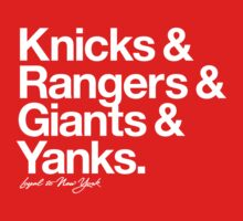 Loyal to New York (White Print) Kids Clothes