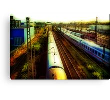German Train Canvas Print