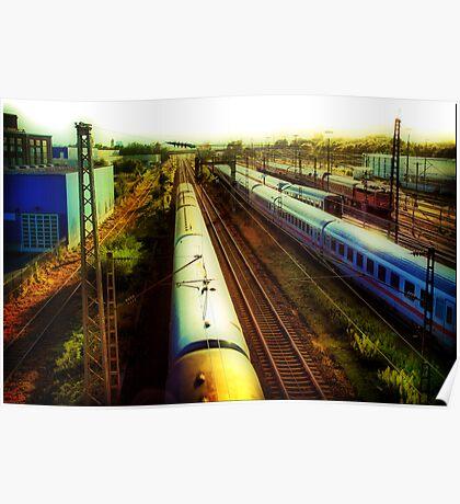 German Train Poster