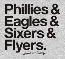 Loyal to Philadelphia (Black Print) by smashtransit