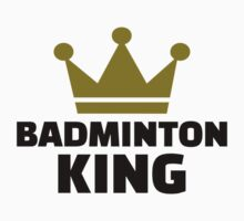 Badminton king champion One Piece - Short Sleeve
