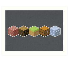 Cubes Art Print