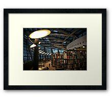 Library Dortmund Framed Print
