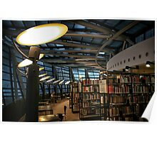 Library Dortmund Poster