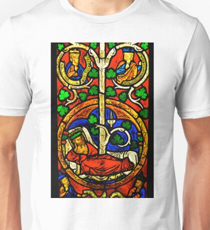 Byzantine Stained Glass Unisex T-Shirt