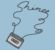 SHINee cassette tape writing by dubukat