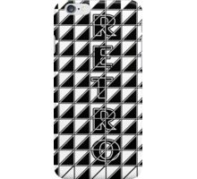 retro check style iphone case iPhone Case/Skin
