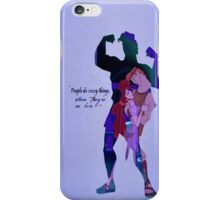 Hercules ~ People Do Crazy Things When They're In Love iPhone Case/Skin