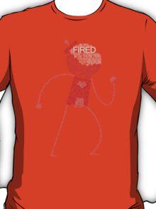 Regular Show / Benson Typography Tee T-Shirt