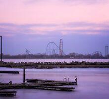 Cedar Point at Sunrise by Susan Kaufman