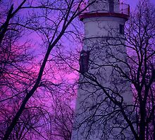 Sunrise at the Lighthouse by Susan Kaufman