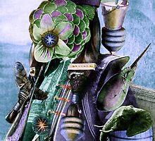 Flower Shaman. by nawroski .