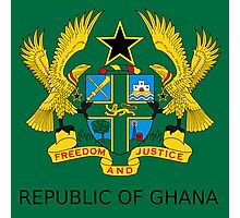 National Seal of Ghana  Photographic Print