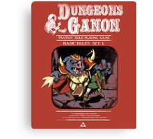 Dungeons and Ganon Canvas Print
