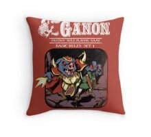 Dungeons and Ganon Throw Pillow