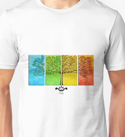 The colorful tree Unisex T-Shirt