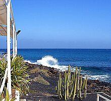 Costa Teguise Beach Restaurant For Shulie by Fara